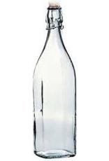 BORMIOLI ROCCO GLASS 314720 Bormioli Swing Bottle 33.75oz 1L   20/CS