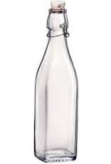 BORMIOLI ROCCO GLASS 314740 Bormioli Swing Bottle 17oz  or 0.5L CLEAR