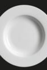 UNIVERSAL ENTERPRISES, INC. AW-0063 12'' White Rd. Pasta Plate 12/case