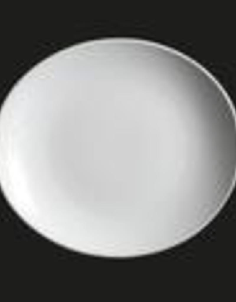 "UNIVERSAL ENTERPRISES, INC. AW-0302 11x9.75"" Oval Plate white 12/cs"