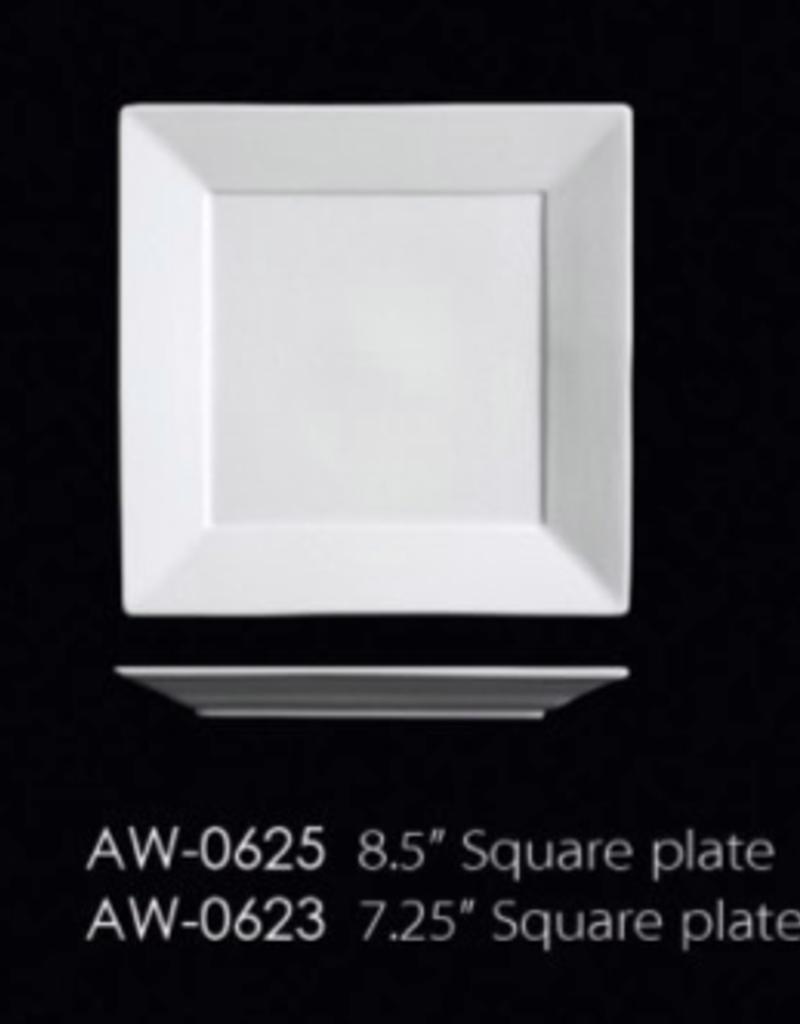 UNIVERSAL ENTERPRISES, INC. AW-0623 7.25'' Square Plate 24/cs