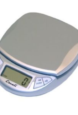 ESCALI N115S Escali Pico, Digital Mini Scale, 11 Lb / 5 Kg, Silver- Gray