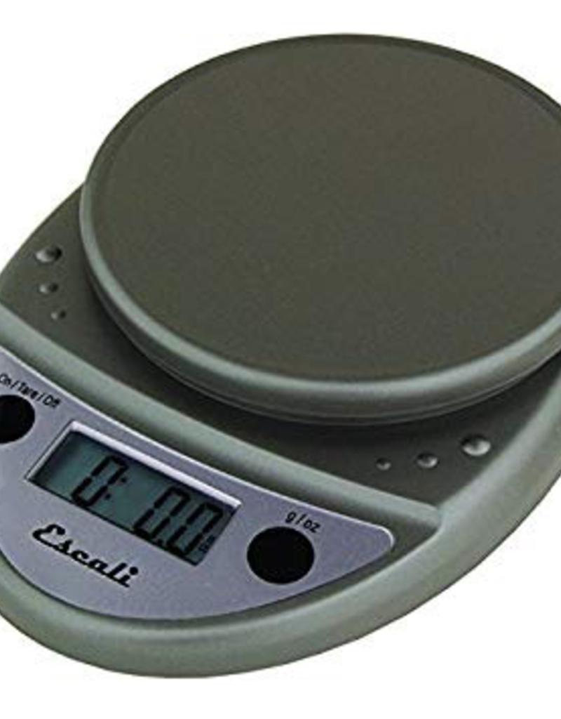 ESCALI P115-M ESCALI Primo, Digital Scale, 11 Lb / 5 Kg Metallic