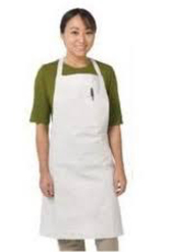 Chef Revival 607BA-WH  special order Chef Revival Bistro Apron, White