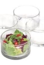 ARTLAND, INC 82002 Cylinder Nappy Bowl Set of 4 Glass