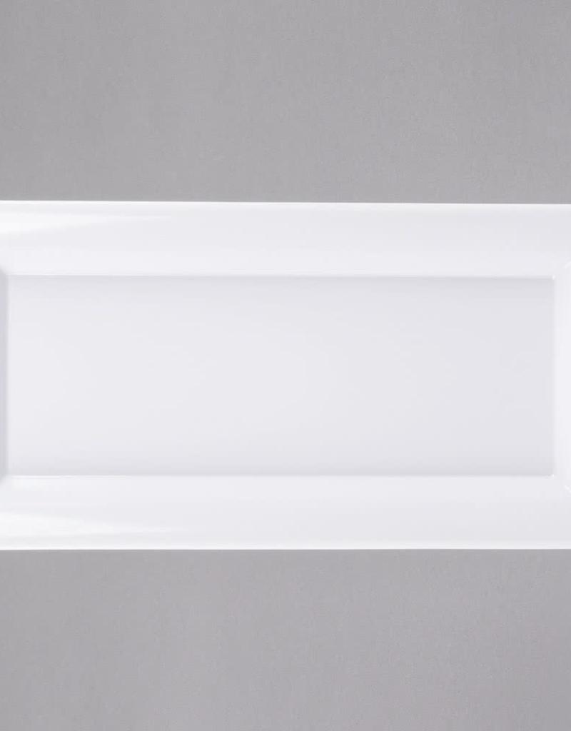 AMERICAN METALCRAFT, INC Large Rect White Melamine Platter