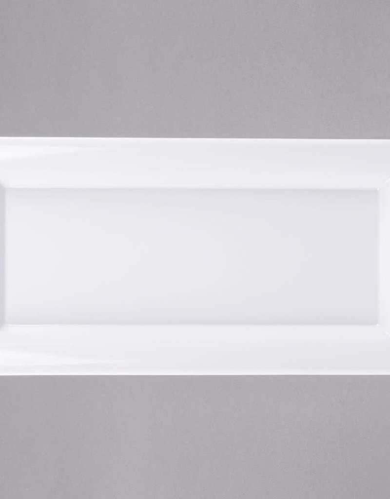 AMERICAN METALCRAFT, INC MEL21 special order Large Rect White Melamine Platter