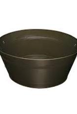 BT-190V Update Beverage Tub black with wood handle.