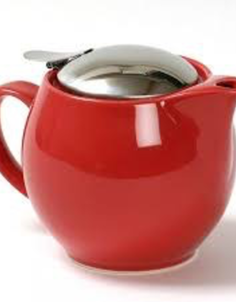 BEE HOUSE BBN-02 CY  special order Bee House Round TeaPot Stainless Steel Cherry