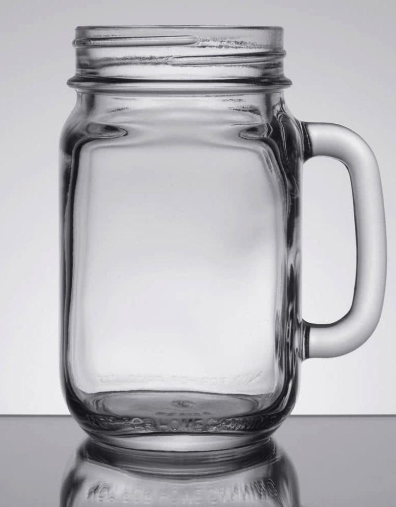 LIBBEY 97084 Libbey Drinking Jar 16oz  12/cs