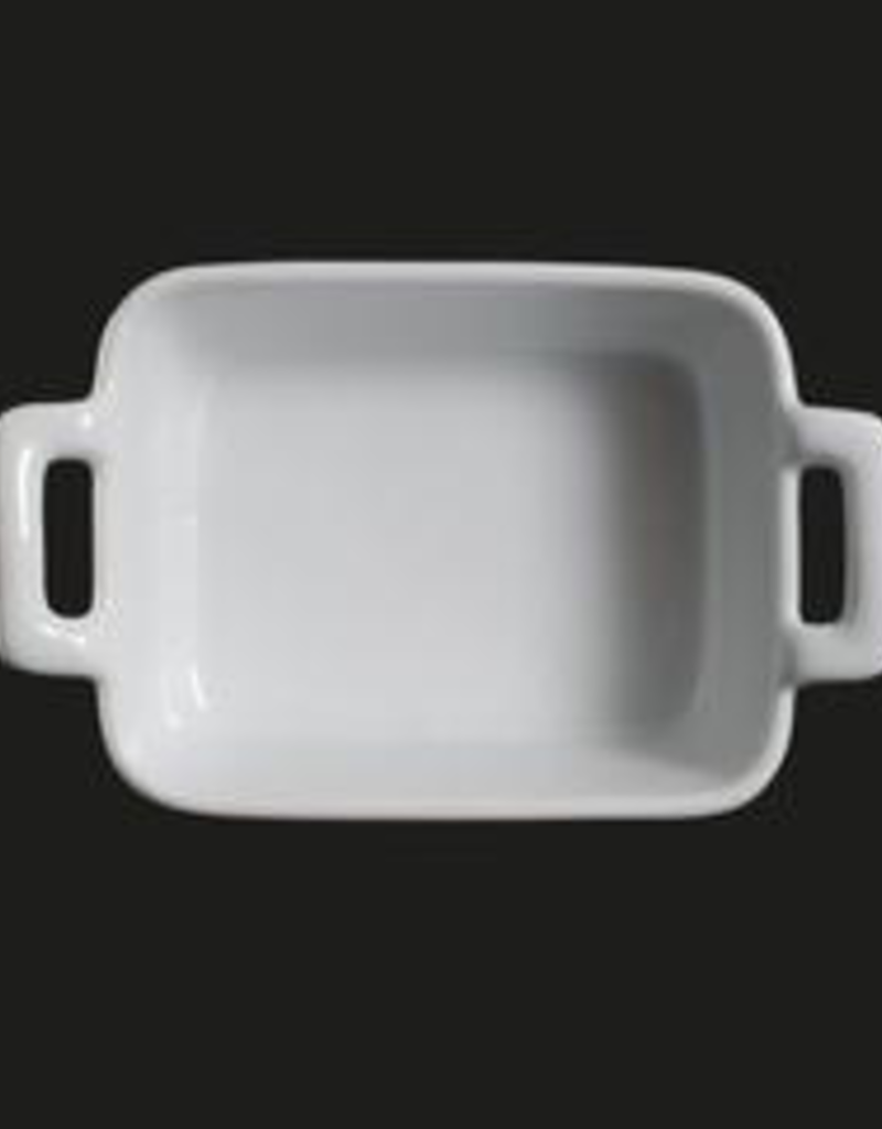 UNIVERSAL ENTERPRISES, INC. AW-9086 4.75X3.75'' Rectr w handle Baking Dish 24/cs