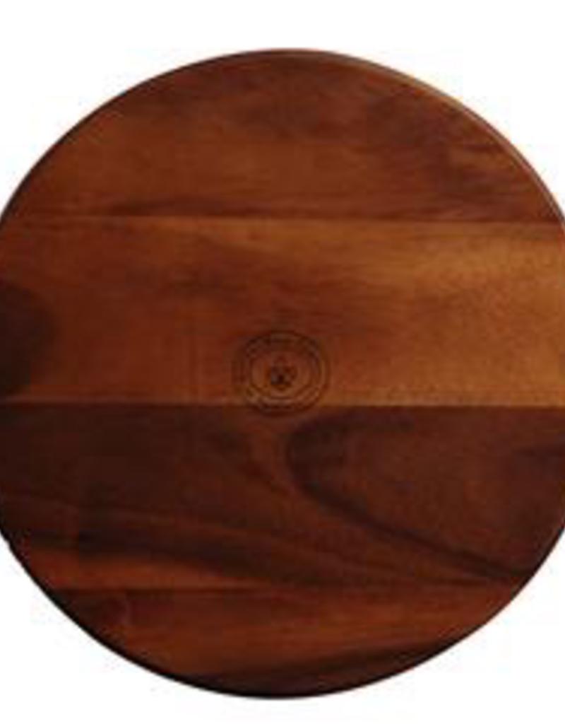 "UNIVERSAL ENTERPRISES, INC. Lazy Susan 18"" wood board"