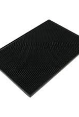 "THUNDER GROUP, INC PLSVM1218BL** winco Black Plastic Servicing Bar Mat 12x18"""