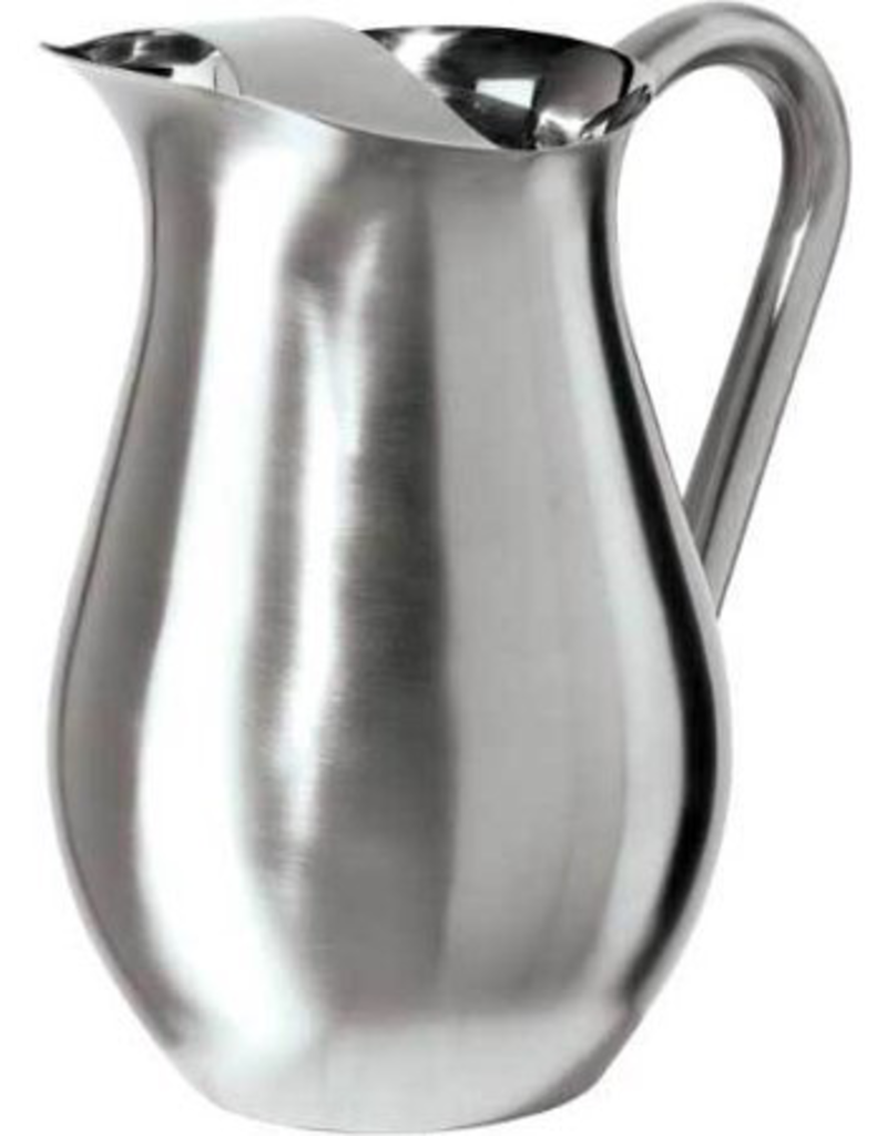 OGGI Corporation 7412 OGGI Stainless Steal Pitcher with Ice Guard 2qt