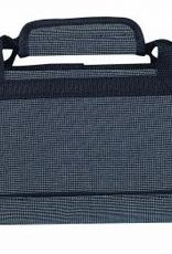 MESSERMEISTER DISC 2088-8/BB Messermeister Padded Knife Roll 8 Pocket Blue & Black Woven