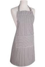 NOW DESIGNS 2500928 Now Design Black Apron Narrow Stripe