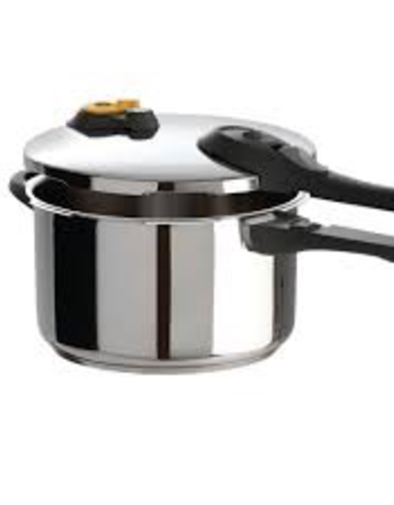 T-Fal Cookware 7114000398 P2510739 T-FAL Pressure Cooker 6.3 qt stainless Steel