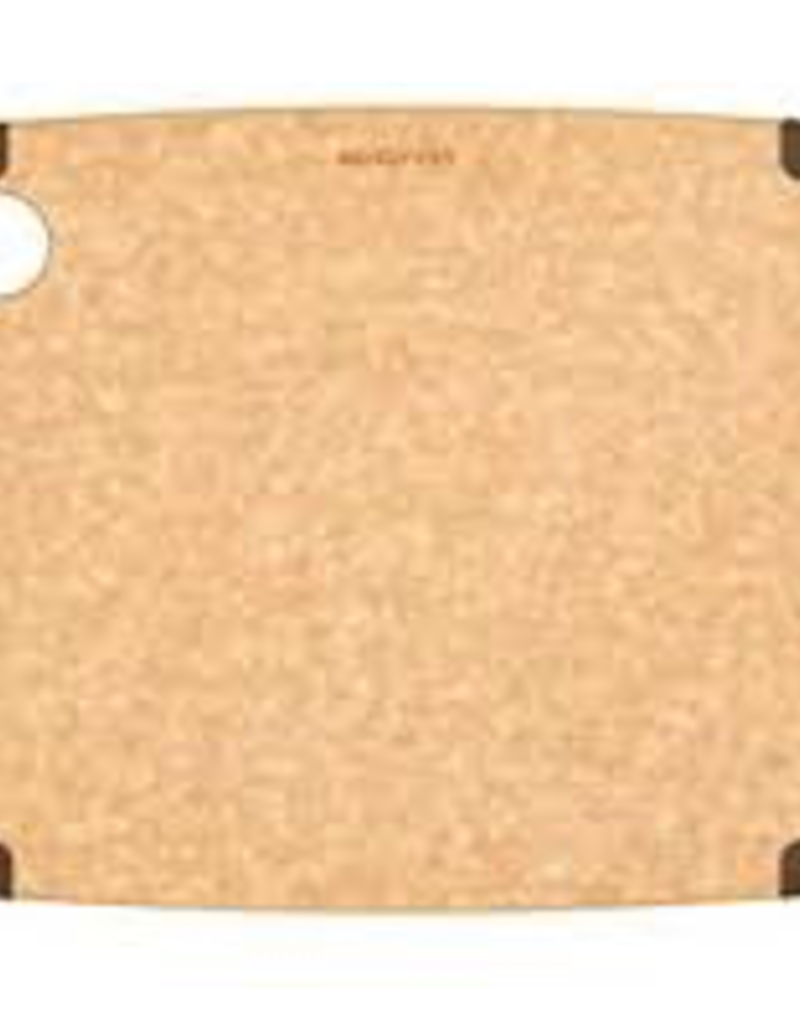 "202-12090102 EPICUREAN 12""x9"" Natural Brown Non-Slip Cutting Board"