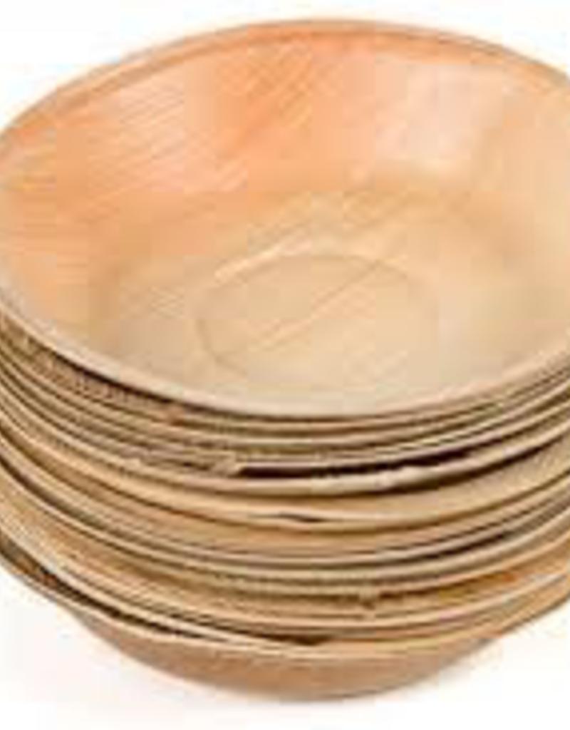 "LEAFWARE LW3S Leafware 3"" Disposable Palm Leaf Square Bowls  plate 25ct"