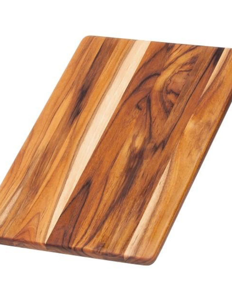 TEAKHAUS 403 TEAK TEAK End Grain Essential Collection Boards Cutting and Serving Board 13.75x9.5x.5
