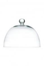 """FORTESSA P500400926 Fortesssa Arezzo Glass Cake cover Dome 10.25"""""""