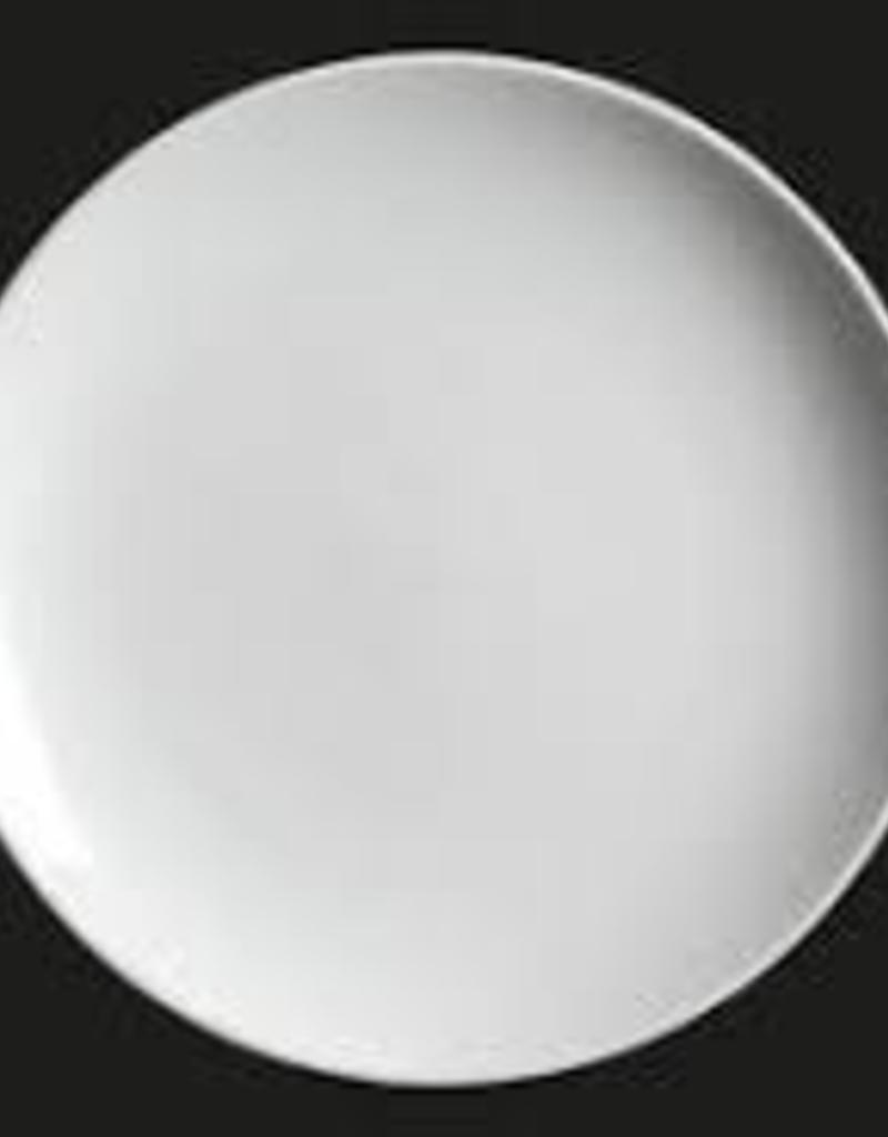 "UNIVERSAL ENTERPRISES, INC. AW-0146 11.25"" round coupe plate white 12/cs"