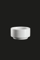"UNIVERSAL ENTERPRISES, INC. AW-8059 2"" stackable 1.5 oz  round dish 48/cs"