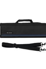 MESSERMEISTER MESSERMEISTER Padded Knife Roll, 8 Pocket, Black