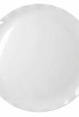 "THUNDER GROUP, INC RF1018W order Universal Thunder 18"" Melamine Round Plate White with Black Pearl Line"