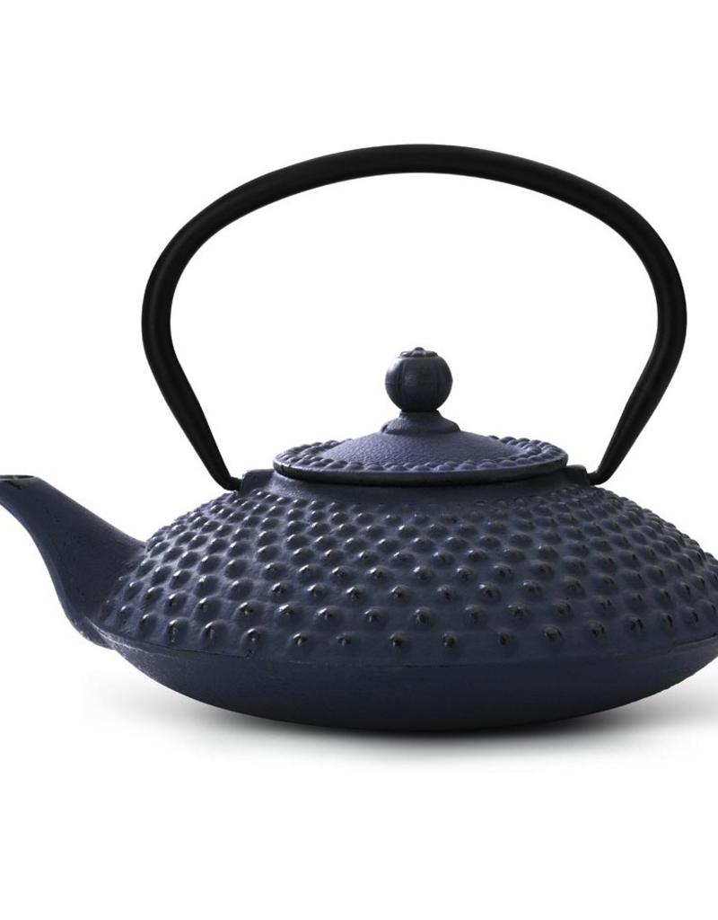 Gourmet Kitchenworks/Gefu B-G002GR  special order Bredemeijer 42 fl oz Cast Iron Green Teapot