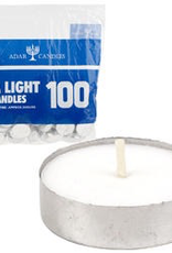 FOUR SEASONS 11565 Tea Lights, 100ct white candles