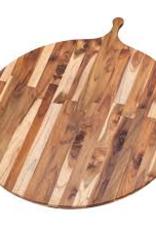 """Teak Haus 901 TEAK Large Circular 28"""" Wood Round Serving Board Teakhaus 32.5"""" x 28"""" x 0.55"""""""