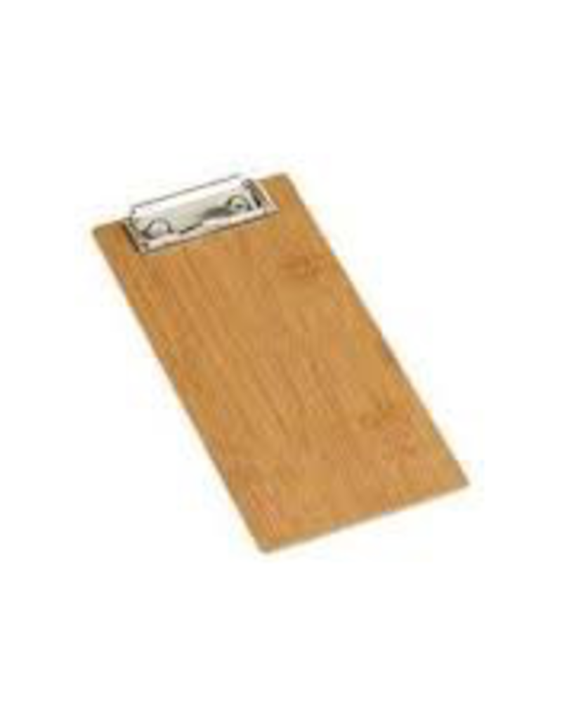 AMERICAN METALCRAFT, INC BB8 AMC Menu Holder Clipboard Bamboo mini
