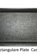 UNIVERSAL ENTERPRISES, INC. BK-0032 14 x 5 Rectangular Plate Black 12/cs