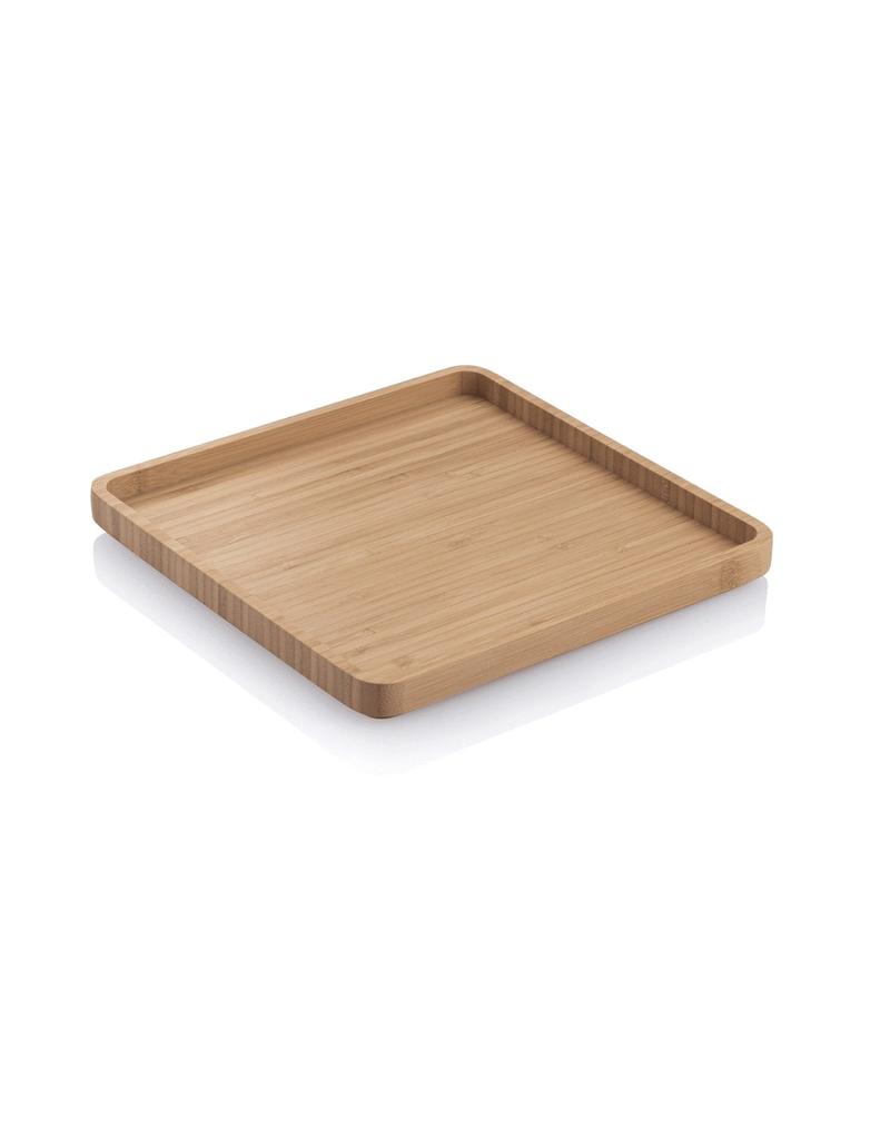 "Bambu 013316 BAMBU 8 x 8"" Square Serving Tray"