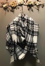 Scarf Plaid Blanket Scarves