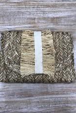 Bag Grosgrain Fringe Clutch
