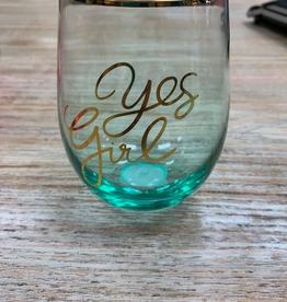 Mug Sentiment Wine Glass