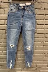 Jean Gemma High Leopard Patch Jeans