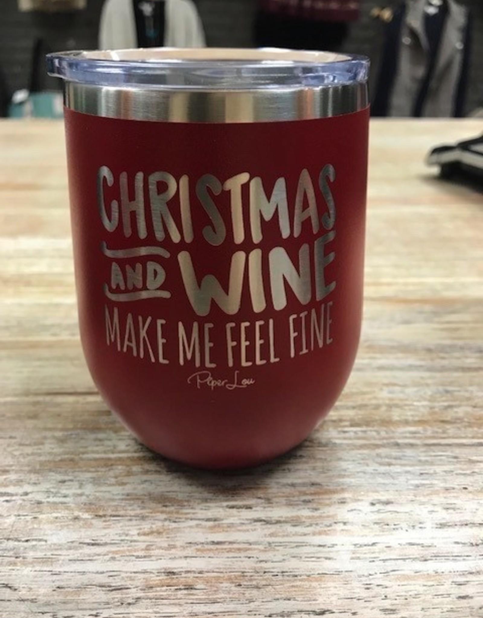 Mug Holiday Wine Tumbler
