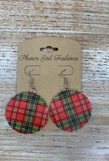 Jewelry Leather Holiday Earrings