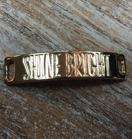 Jewelry Refined Sentiment Shine Bright Gold