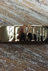 Jewelry Refined Sentiment Be Kind Gold