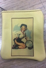 Accessory Coin Purse- Girl with Pan
