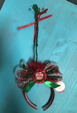 HeadBand Kiss Me LED Mistletoe Headband