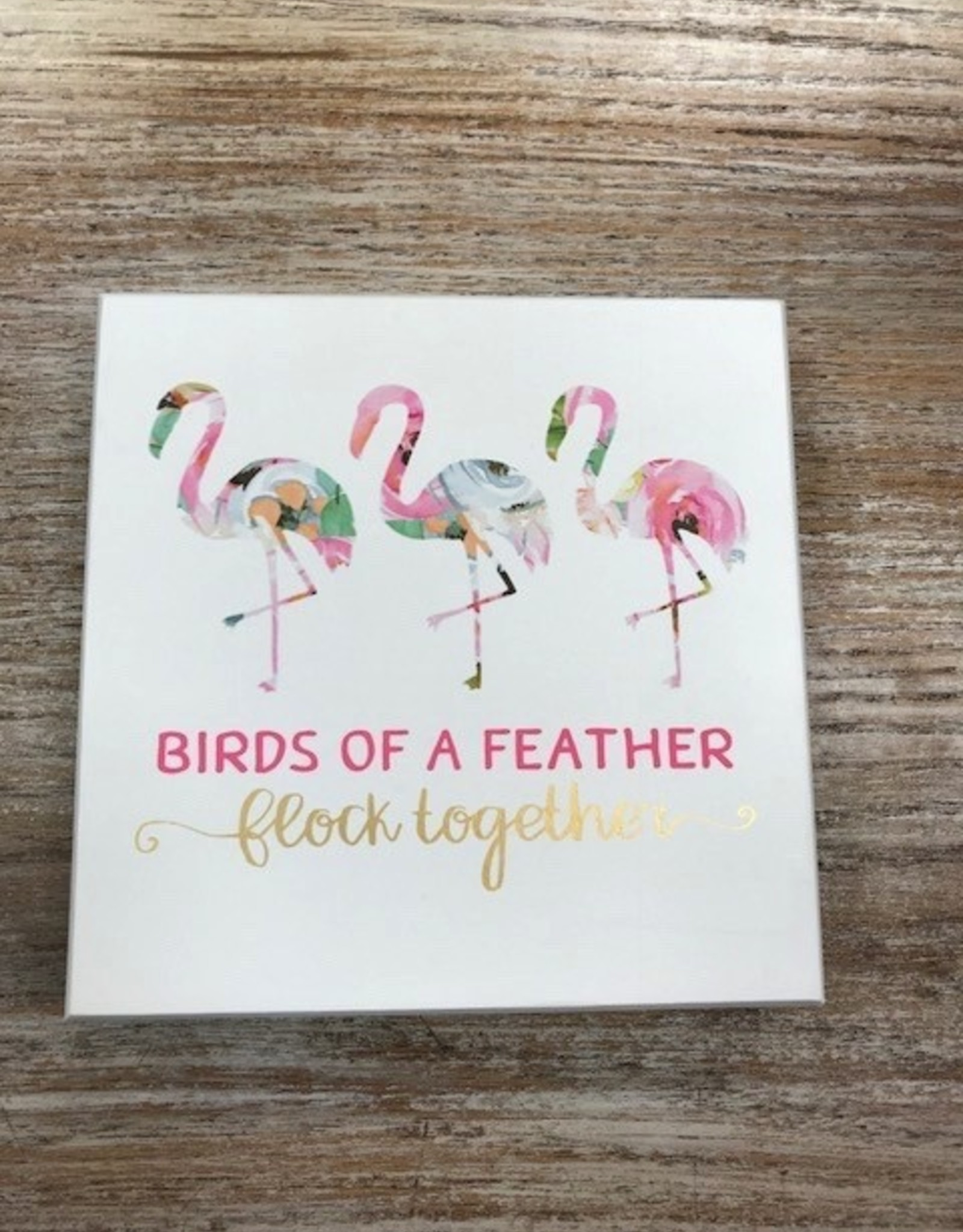 Decor Flock Together Sign 7x7