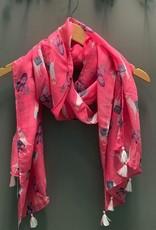 Scarf Pink Llama Scarf