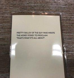 Card Hokey Pokey Card
