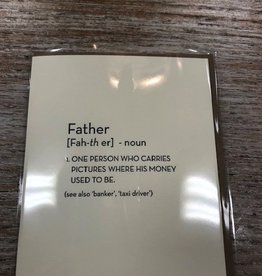 Card Father Definition Card