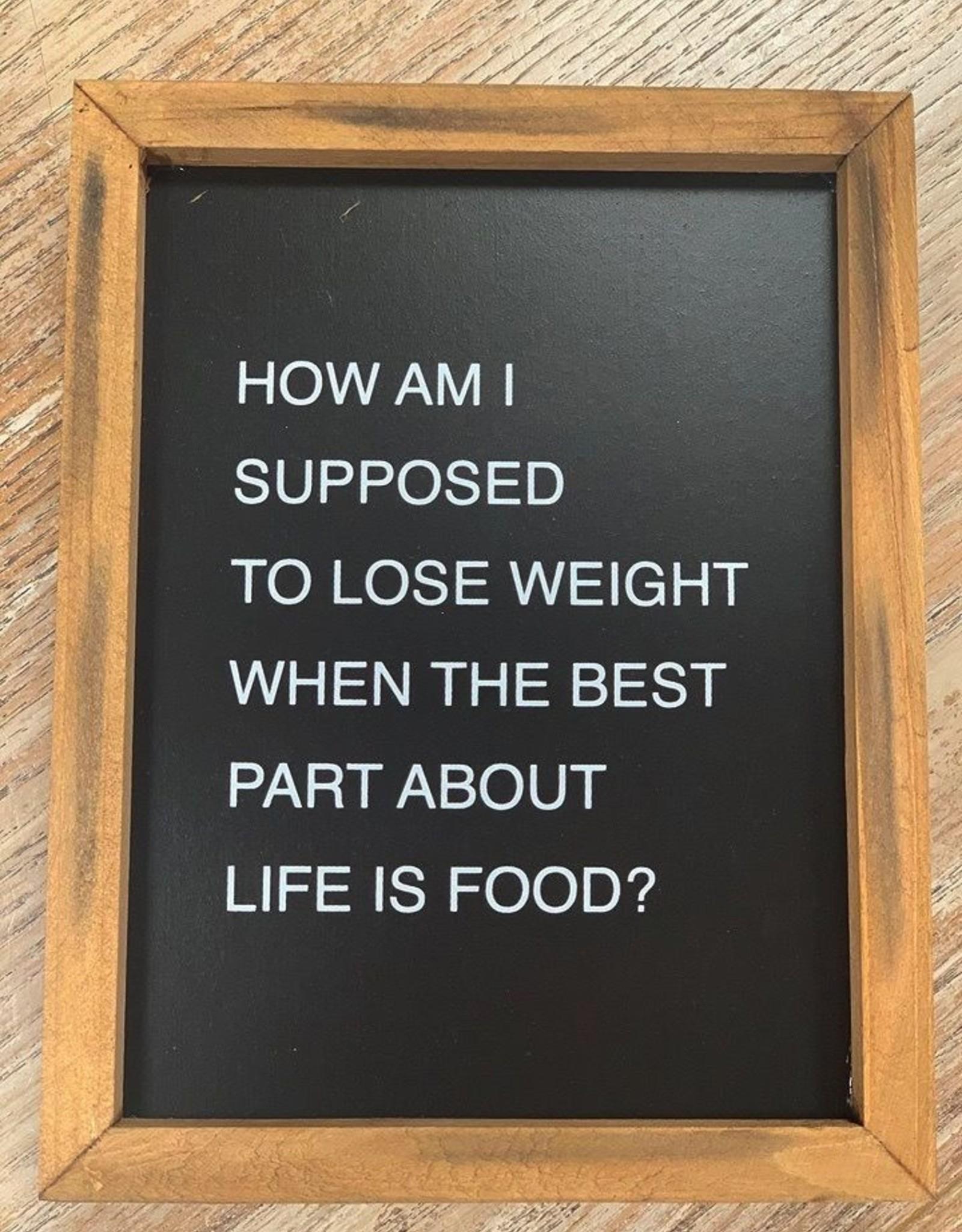 Decor Best Part Of Life Box Sign 7x9
